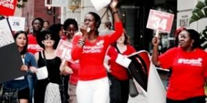 Washington D.C. Protest at U.S.-Africa Leaders Summit