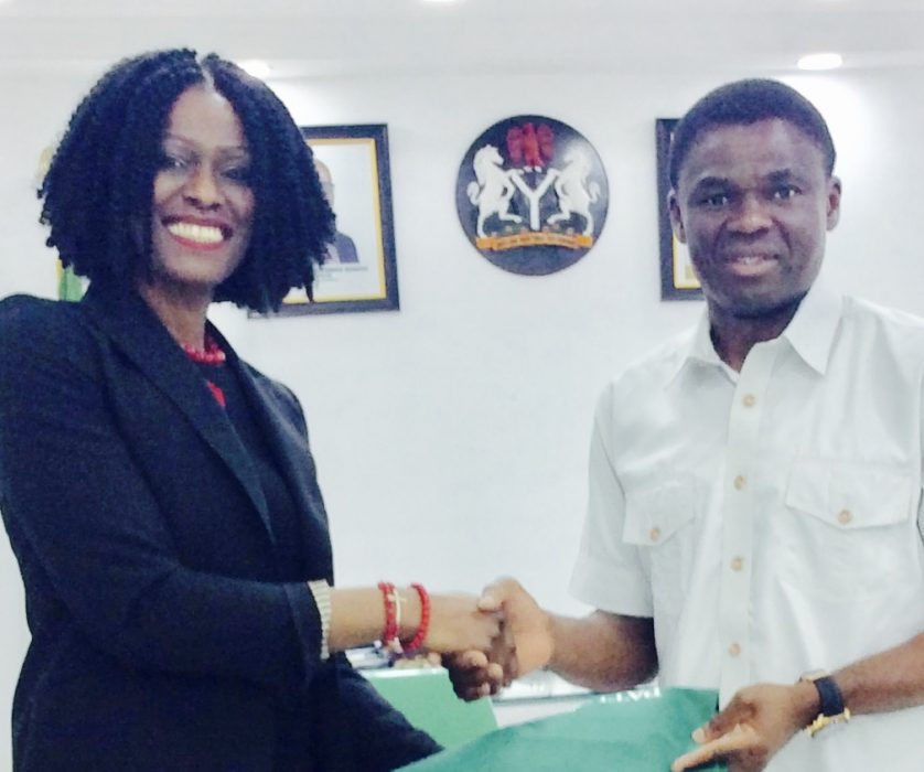 With His Excellency, Deputy Governor Philip Shaibu