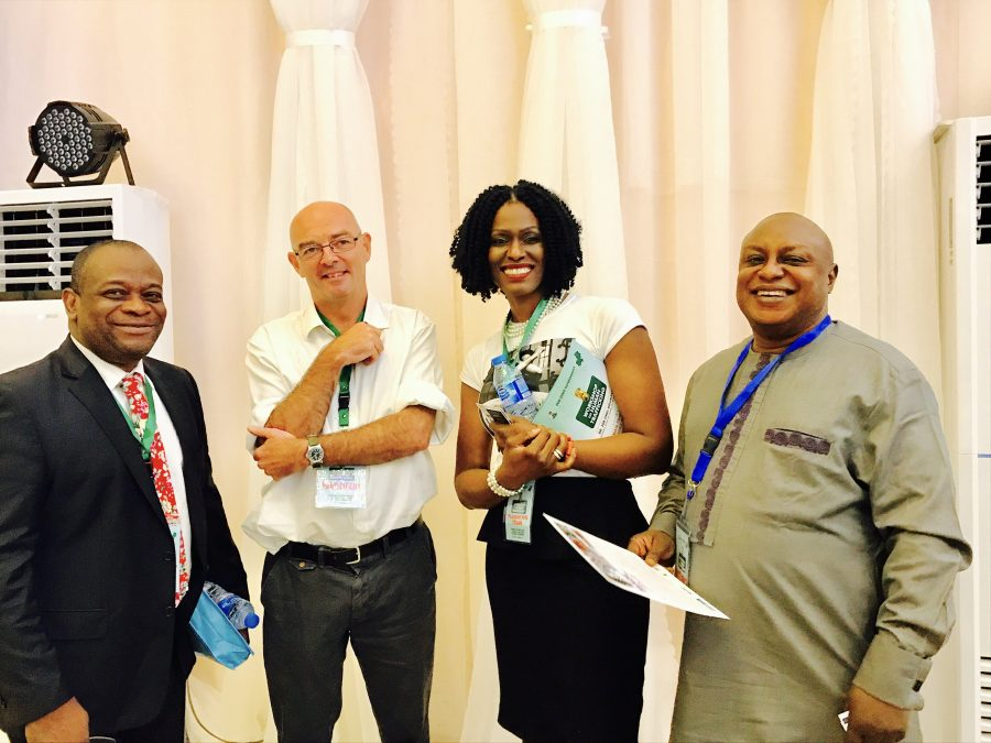 With DFID, British High Commission and Help Services for Nigerian in Russia
