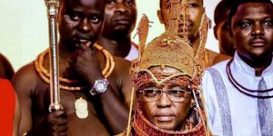 His Majesty the Oba of Benin Renounces Curses on Victims of Human Trafficking