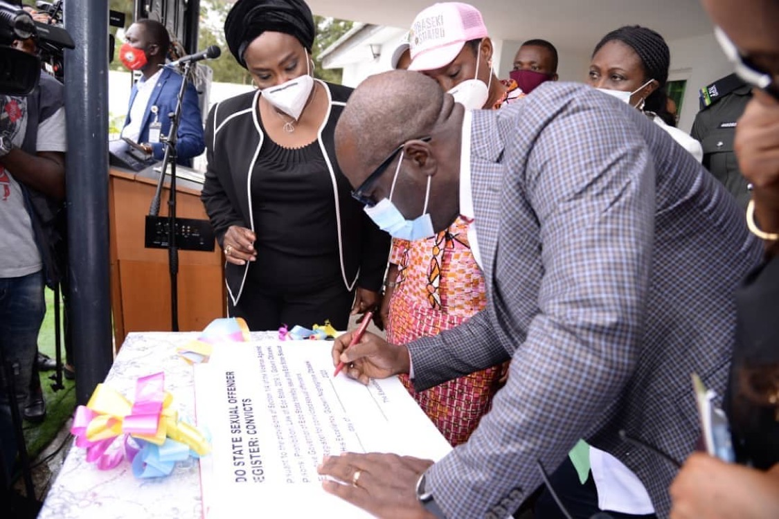 Edo State Launches Sex Offenders Register, SARC and Returnees' Shelter